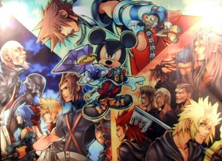 Personajes Kingdom Hearts 358/2 Days
