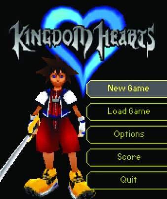 Personajes Kingdom Hearts: Mobile