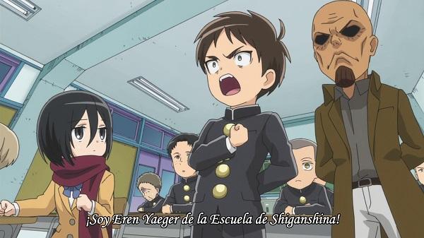 Shingeki! Kyojin Chuugakkou 01